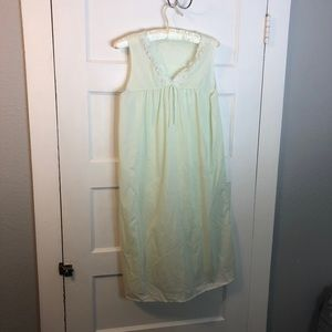 Vintage summer nightgown pajama dress